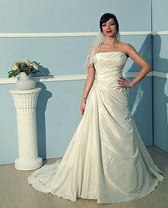 Alexa Angelyeu Einschulter BrautkleidHochzeitskleiderMode