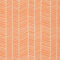 HERRINGBONE in Carrot  (pwJD036) - FLORA - Joel Dewberry  - Free Spirit Fabric - By the Yard by MoonaFabrics on Etsy https://www.etsy.com/listing/217898526/herringbone-in-carrot-pwjd036-flora-joel