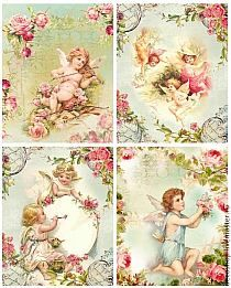 Products for decoupage Vintage Tags, Vintage Greeting Cards, Vintage Labels, Vintage Postcards, Vintage Prints, Shabby Vintage, Victorian Crafts, Victorian Art, Vintage Easter