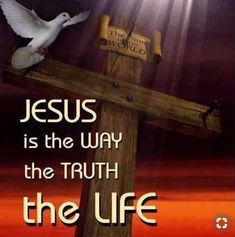 Jesus is the Way the Truth the Life No One Comes To The Father But Through Jesus Christ. Biblical Quotes, Jesus Quotes, Faith Quotes, Bible Quotes, King Jesus, God Jesus, Jesus Christ, Savior, Free Your Mind