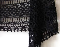 Grafika Shawl PDF Crochet Pattern