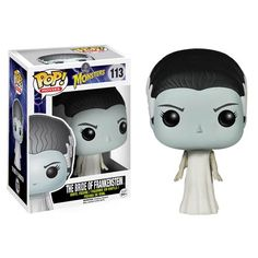 Universal Monsters Bride of Frankenstein Pop! Vinyl Figure - Funko - Universal Monsters - Pop! Vinyl Figures at Entertainment Earth
