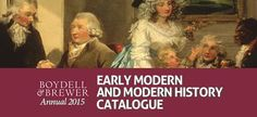 We are delighted to have just published our new #earlymodern and #modern #history catalogue. With new titles in #political, #economic, #social, #military, #maritime and local history there's something for academics, students and enthusiasts, so please click through and find the latest publications in your field. http://issuu.com/boydellandbrewer/docs/2015_emmh_catalogue