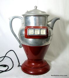 1920's Coffee Grinder & Brewer Fully Functional by Nachokitty, $1250.00