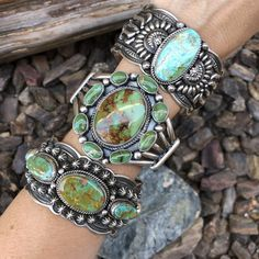 Favorite Size 7 12 Rocking Royston Turquoise Sterling Silver Handmade Statement Ring Quality Made