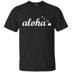 Aloha Hawaii Custom Ultra Cotton T-Shirt