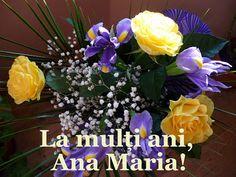 Baghi: La mulţi ani, Ana Maria! Happy Birthday, Plants, Garden, Happy Anniversary, Happy B Day, Garten, Urari La Multi Ani, Planters, Gardening
