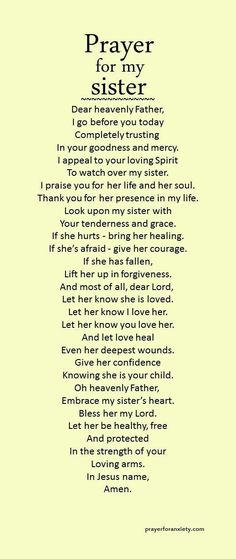 For my sisterS <3