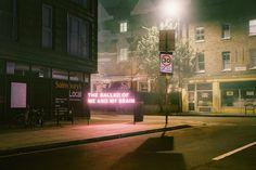 Inspiring Typographic #Neon Light Installations – Fubiz Media