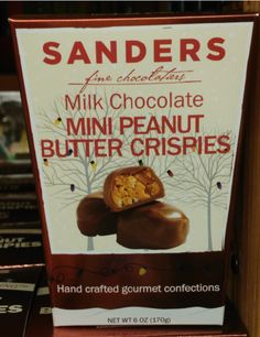 Sanders Milk Chocolate Mini Peanut Butter Crispies