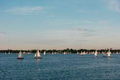 Sailing boats on Alster Hamburg | Free Non-Stock Photo