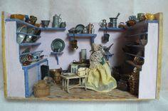 Antike Puppenküche, Christian Hacker