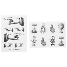 HISTORISK Stickers - IKEA