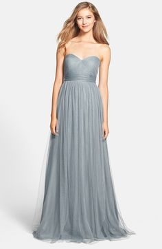 Jenny Yoo 'Annabelle' Convertible Tulle Column Dress (Regular & Plus Size) - Like this one a lot