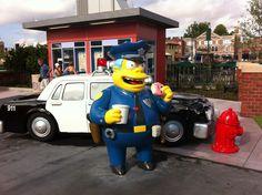 """Universal Orlando..."" ""The Simpsons' Springfield"""