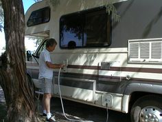 RV Tech Tips Newsletter: Issue 7 | RV Travel -Quick Tips --Disinfect your RV's water system before using for the season --Instructions for disinfection of potable water systems on recreation vehicles. This procedure is approved by the U.S. Public Health Service.