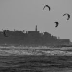 Tel Aviv beach… Mediterranean coast, Israel