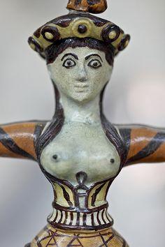 Goddess, Knossos, Crete