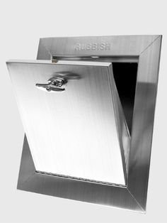 All City Metal Inc. U0026 Trash Chute Doors   Garbage/Recycling/Compost Chutes.  Fire Rated.