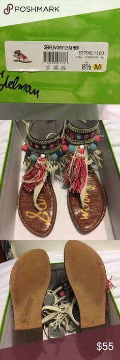Sam Edelman sandals SUPER cute !! Only worn twice! Sam Edelman Shoes Sandals