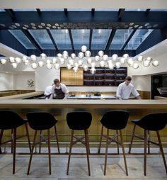 Pollen Street Social | Neri&Hu Design and Research Office; Photo: Pedro Pegenaute | Archinect