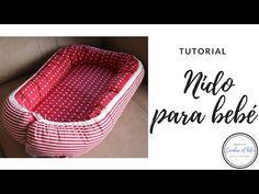 TUTORIAL nido para bebé - YouTube Crochet Dress Girl, Kit Bebe, Baby Crafts, Plastic Laundry Basket, Baby Sewing, Dog Bed, Diy Tutorial, Baby Dress, Baby Shower