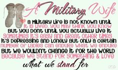 soldiers sayings | Military wife | Quotes from her heart