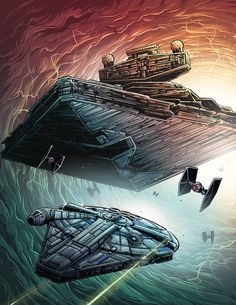 Solo: A Star Wars Story - Created by Dan Mumford