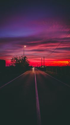 Road to the nowhere wallpaperforyourphone Beautiful wallpaper for your phone road sunset horizon marking wallpaper 765189792922081710 Sunset Road, Sunset Art, Sunset Colors, Sunset Quotes, Sunset Tumblr, Mountain Sunset, Summer Sunset, Sunset Beach, Sunset Wallpaper