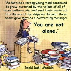 12 Lessons About Gifted Kids from Matilda - We had CDs of many of our favourite books, including this one, and played them on long car journeys when the boys were little.