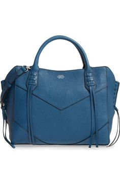 Vince Camuto Fargo Leather Satchel available at #Nordstrom