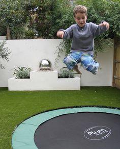 Sunken trampolines - they make them happen.