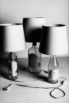 Margiela Bottle Lamps