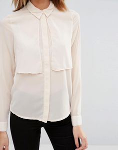 Image 3 ofVero Moda Long Sleeve Double Layer Shirt