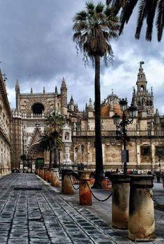 Catedral de Sevilla España.