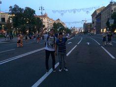 Calle central de Kiev (Хрещатик)