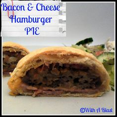 With A Blast: Bacon & Cheese Hamburger Pies