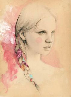 Elisa Mazzone Fashion illustrations