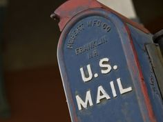 Close Up of an Official U.S. Mailbox Photographic Print by Hannele Lahti at Art.com