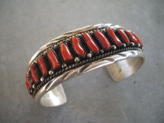 EXQUISITE Signed Vintage NAVAJO Sterling by TurquoiseKachina