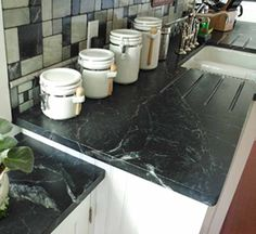 Exceptionnel Soapstone Countertops Cost, Reviews, Installation Price. Love The Back  Splash