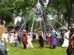 Wrapping the May Pole