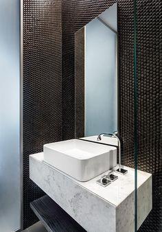 Luxury European Penthouse In Bulgaria by KNOF design