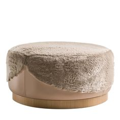 Ottoman in Furs Pearl Ottoman Fratelli Boffi - Artemest Boffi, Ottoman Stool, Floor To Ceiling Windows, Extra Seating, Furs, Modern Interior, Color Combos, Light In The Dark, Upholstery