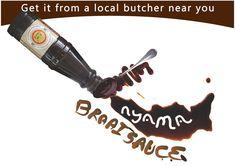 Nyama Braai Sauce now available from a butchery near you Local Butcher, Barware, Salt, Salts, Tumbler