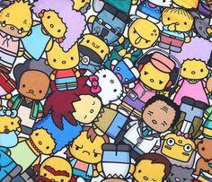 The Simpsons x Hello Kitty Skater Skirt