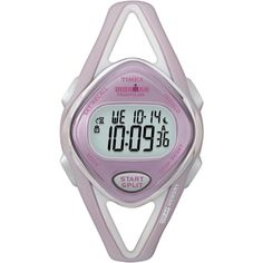 Timex Ironman Triathlon Sleek Mid-Size Pink Watch - at dollar general box Ironman Triathlon Watch, Sport Watches, Watches For Men, National Pink Day, Timex Indiglo, I Hate Running, Timex Watches, Women's Watches, Pink Watch