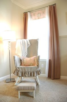 Slipcovered Rocking Chair   So Pretty