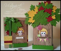 Stampin' Steps party owl