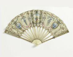 Pleated Fan (Netherlands), late 18th century